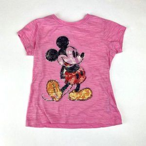 Disneyland Pink Mickey Mouse Tee Size Small